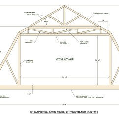 Truss Style Diagram Chevy S10 Radio Wiring Medeek Design Inc Gallery 32