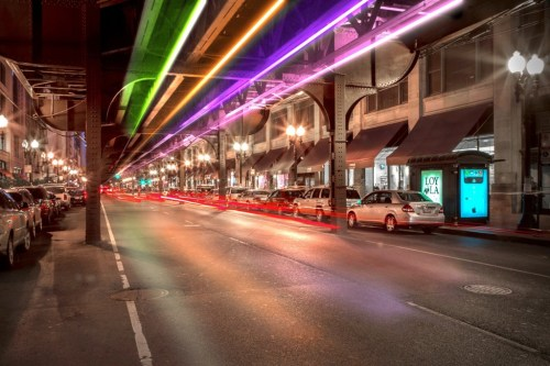 Image: Wabash Lights project