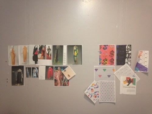 Alma Wieser's work space/Photo: Ana Sekler