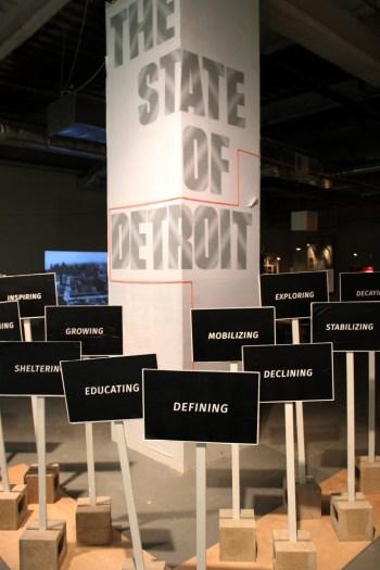 The State of Detroit exhibit. Image courtesy of CDM.