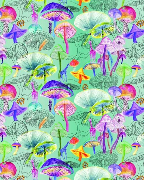 "Ingrid Johnson's ""Magic Mushrooms"""