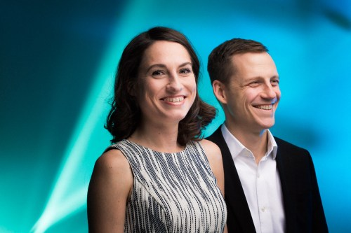 Allison Newmeyer and Stewart Hicks/Photo: Joe Mazza/Brave Lux