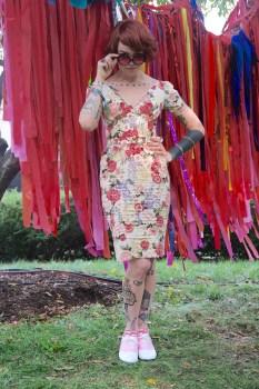 Meredith Graves Fashion Week 2017