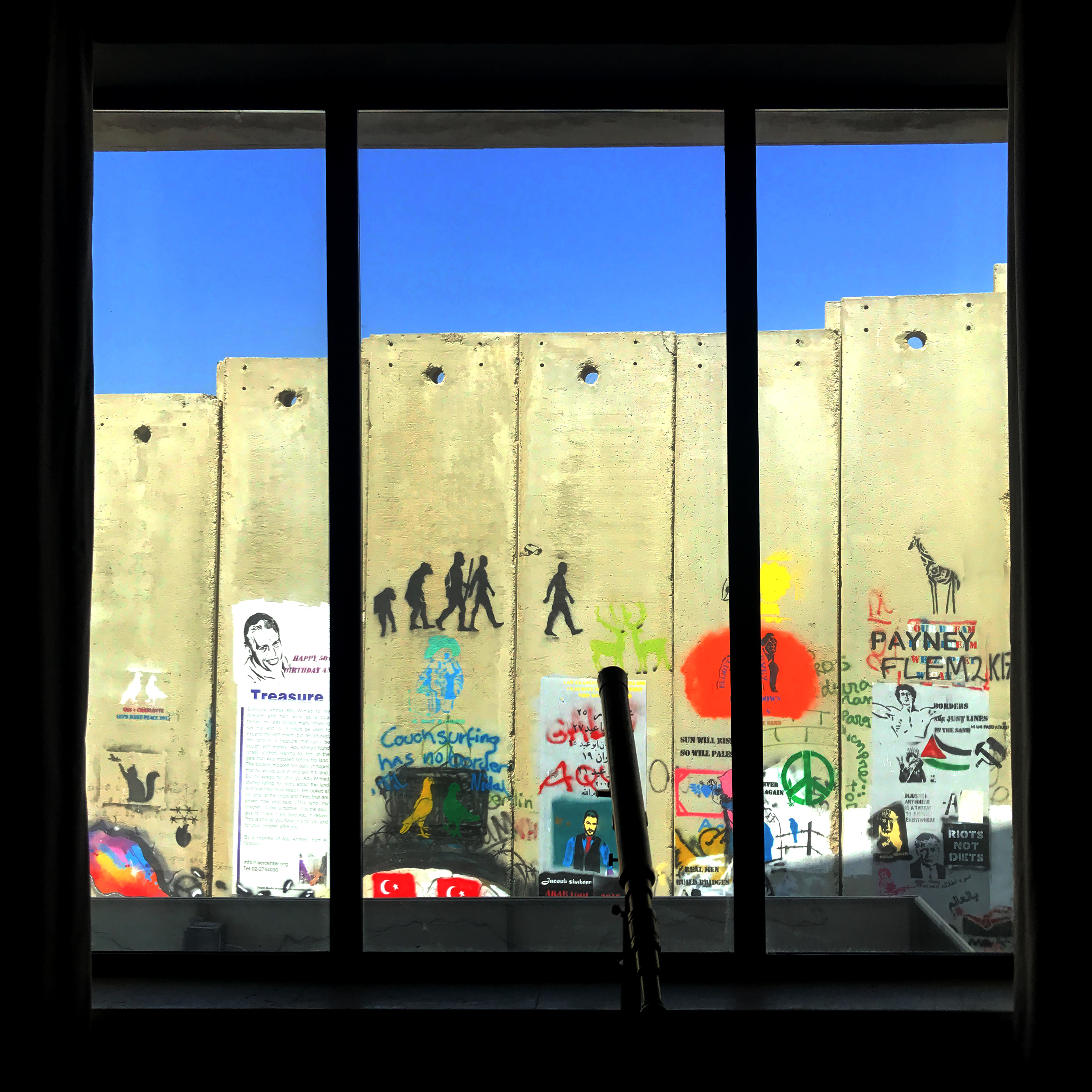 O Little Town of Bethlehem, Palestine: Checking in at Banksy\'s The ...