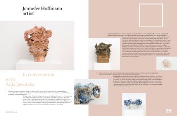 Designed Objects 2018: Jennefer Hoffmann in conversation with Ania Jaworska