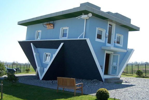 Unusual Architecture Upside Down Houses Spot Cool Stuff Design