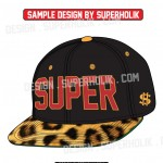 Cap vector set snapback fitted