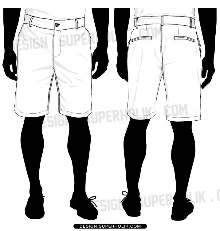 Fashion design templates, Vector illustrations and Clip