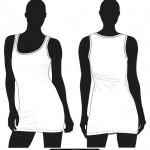 dress template vector