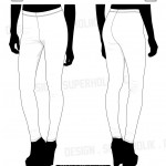 Leggings vector template