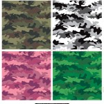camouflage seamless repeating pattern