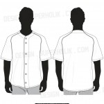 baseball jersey shirt vector template