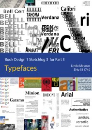 Sketchlog 3 Typefaces cover