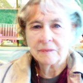 Vivid light, mostly my mother - shows the light in her eyes behind the feeling of being lost. Most like the 'real her'