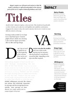 Good Typography Page 7 Impact