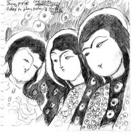 Three Princes Iran British Museum