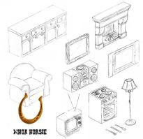 Ranch House Items