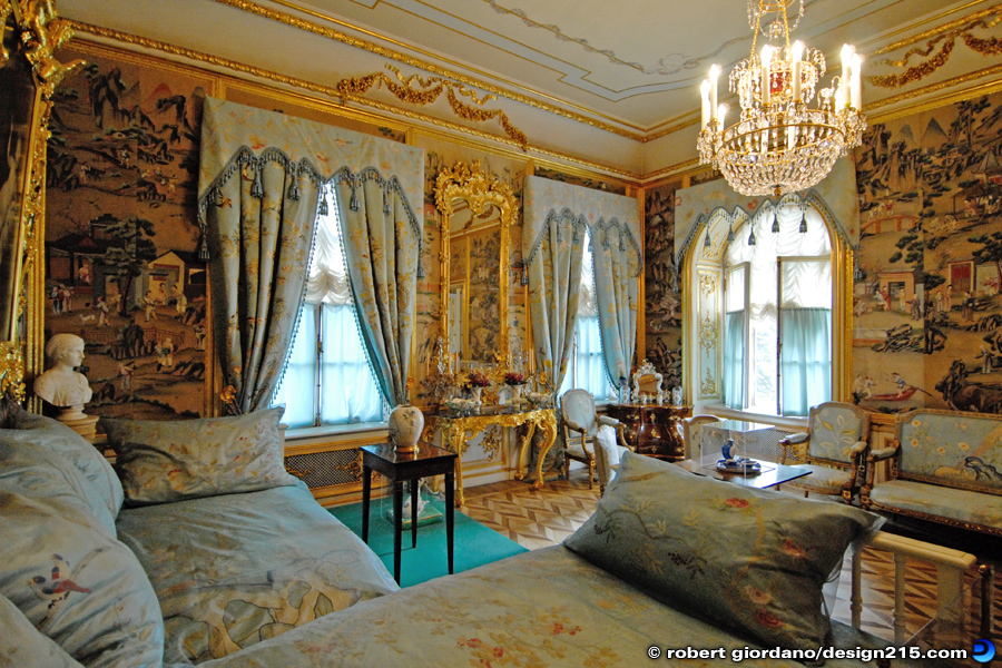 Peterhof Grand Palace Bedroom  Travel Photography
