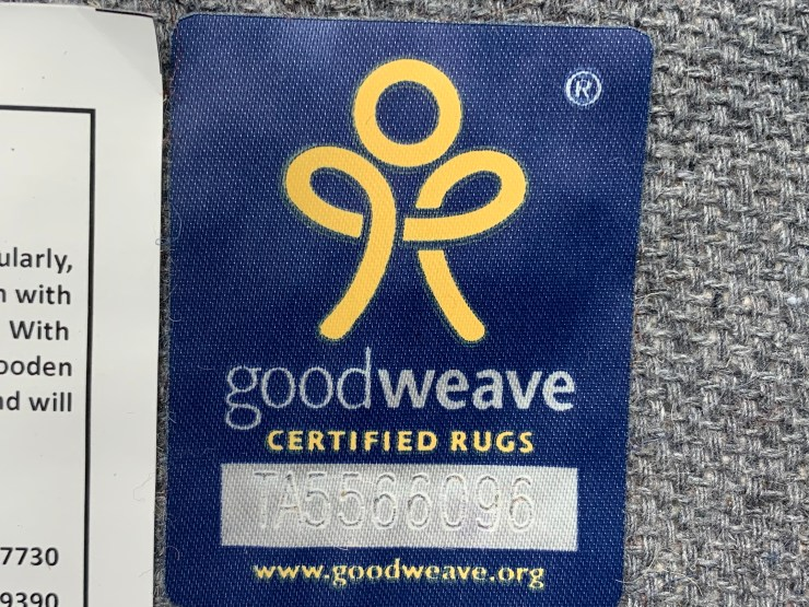 look for goodweave  certified rugs to decorate responsibly