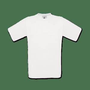 Hvid Unisex T-shirt med eget foto