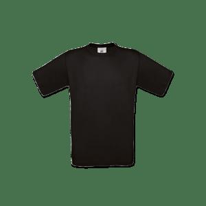 Sort børne T-shirt med eget foto