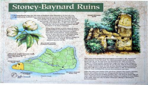 Stoney-Baynard Plantation Ruins