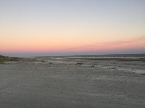 Sunrise over Hilton Head Beach