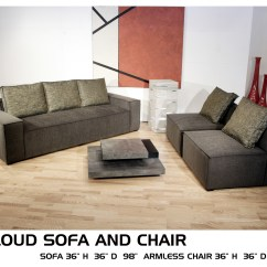 Cloud 9 Sofa Divan Sofas Chairs Design Inc