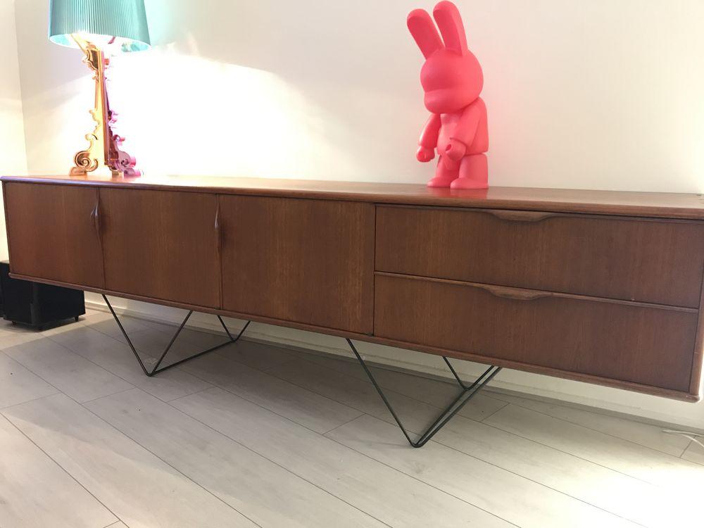 2 pieds triangle pour creation diy meuble bas style enfilade