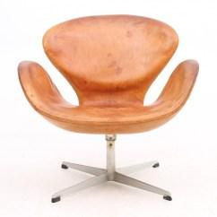 Arne Jacobsen Swan Chair Burlap Sashes Australia Vintage Leather By Dk Design Addict Prev