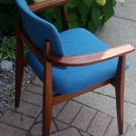 Mid Century Modern Teak Armchair P Please Help To Id
