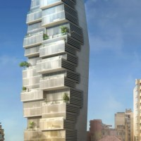 Residential Architecture: Beirut Residential Building by Accent Design Group