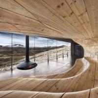 * Architecture: Tverrfjellhytta by Snøhetta