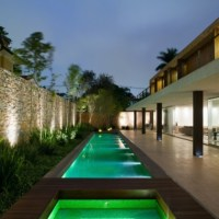 * Residential Architecture: Brick House by Marcio Kogan