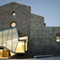 * Architecture: Auditorium in the Church of Saint Francis' Convent by David Closes