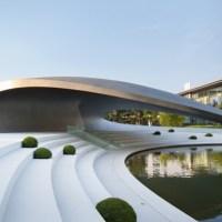 * Architecture: Porsche Pavilion by HENN