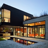 * Residential Architecture: Cedarvale Ravine House by Drew Mandel Architects