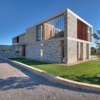 * Residential Architecture: Stone House in Anavissos by Whitebox Architects