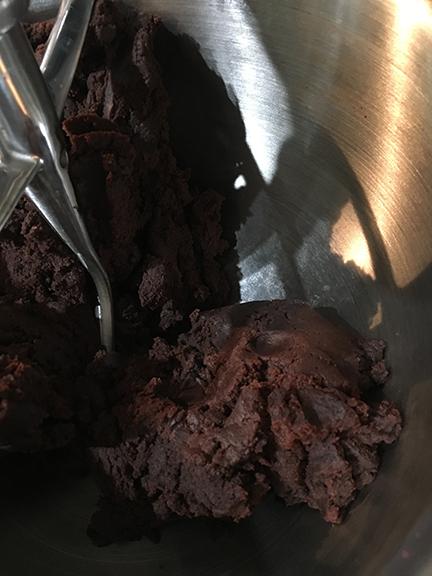 Chocolate Cake Dough
