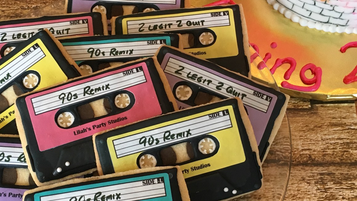 Cassette Tape Cookies