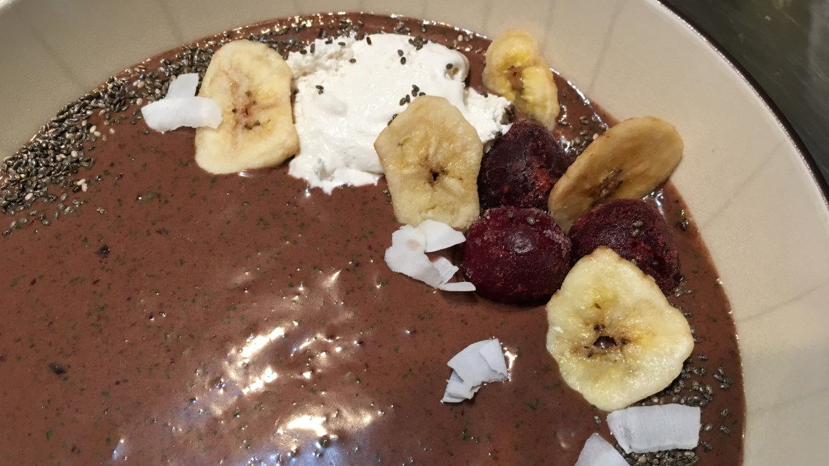 Cherry Banana Smoothie Bowl