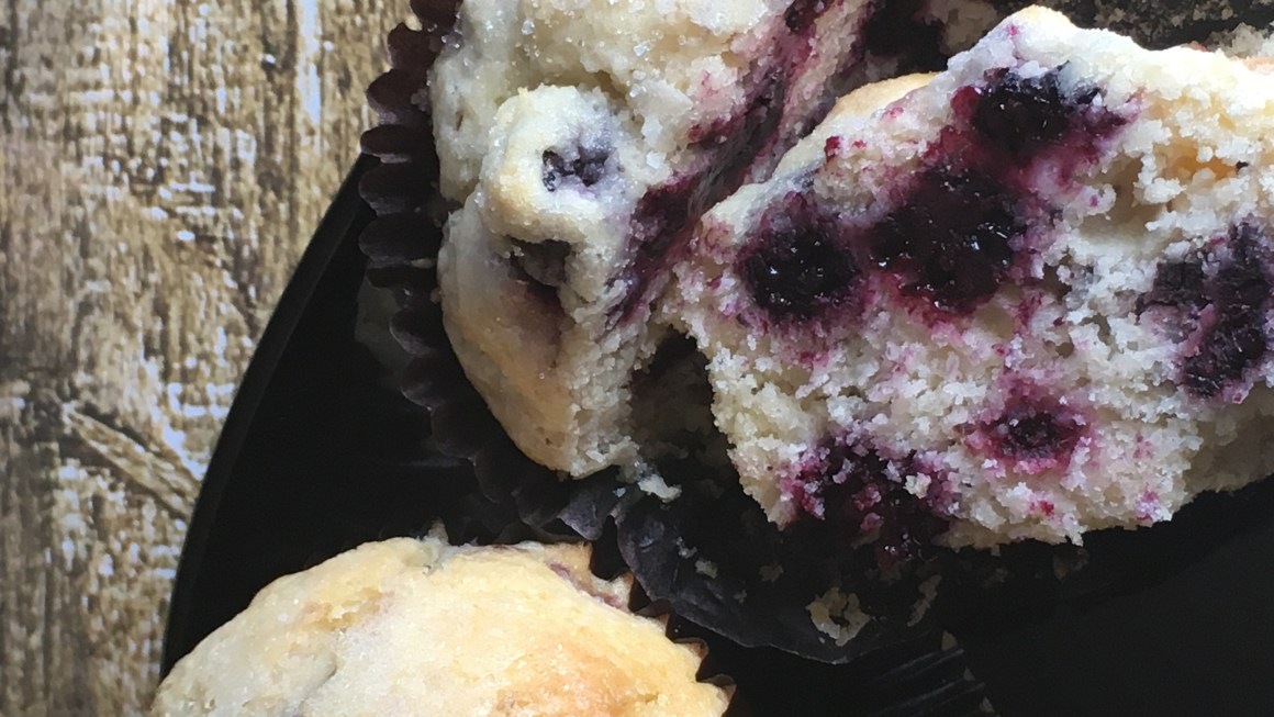 Black Raspberry Muffins & Memories
