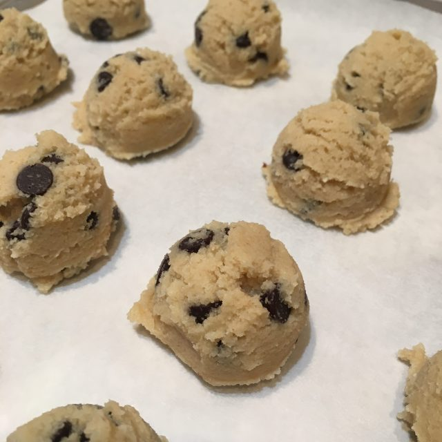 Cookie Dough Keto Fat Bombs