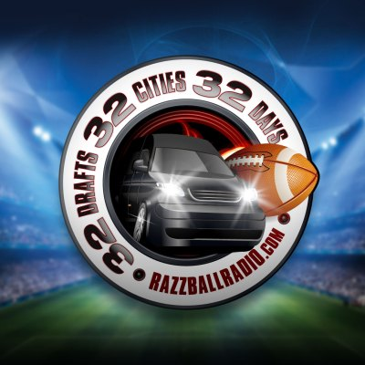 32 in 32 in 32 emblem for Razzball Radio