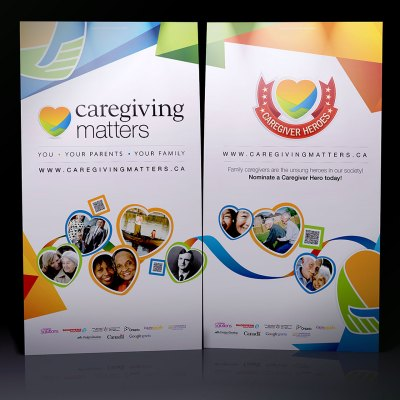 Caregiving Matters Tradeshow Banners