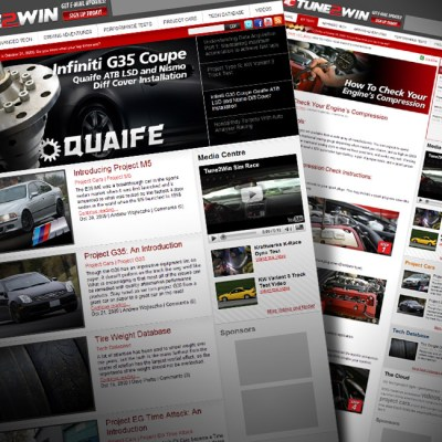 TUNE2WIN Magazine Website