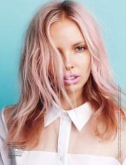 pastel hair design & diys