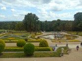 View at the Parterre from the first floor
