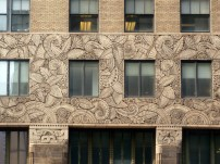 Floral details on the Chanin Building