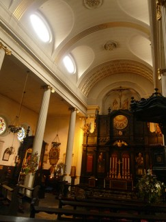 Looking towards the altar.